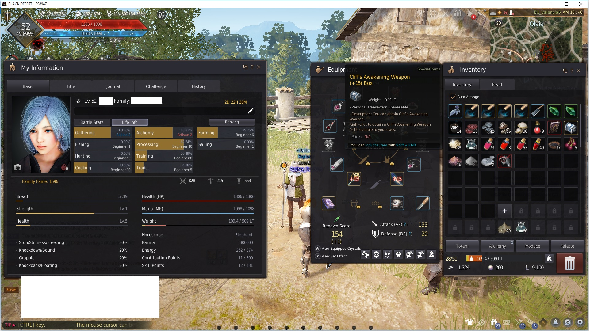 Selling] 61 Berserker 476 GS - full boss, tri Kzarka/dande