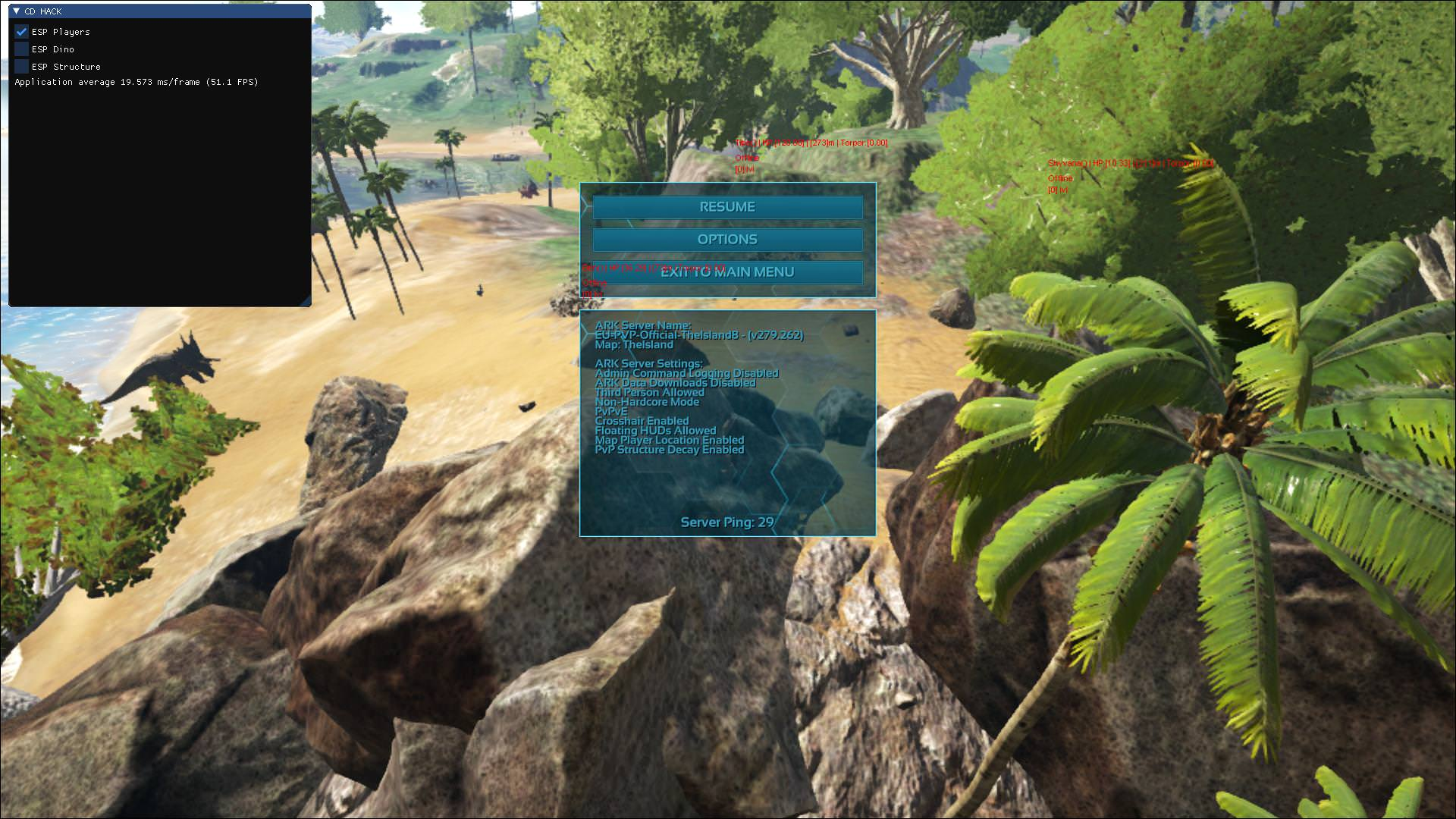 Selling] CDHack for ARK: Survival Evolved - private cheat