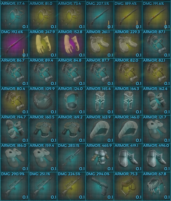 Selling] PC PVE ONLY :) Selling Dino's, Tek Items and