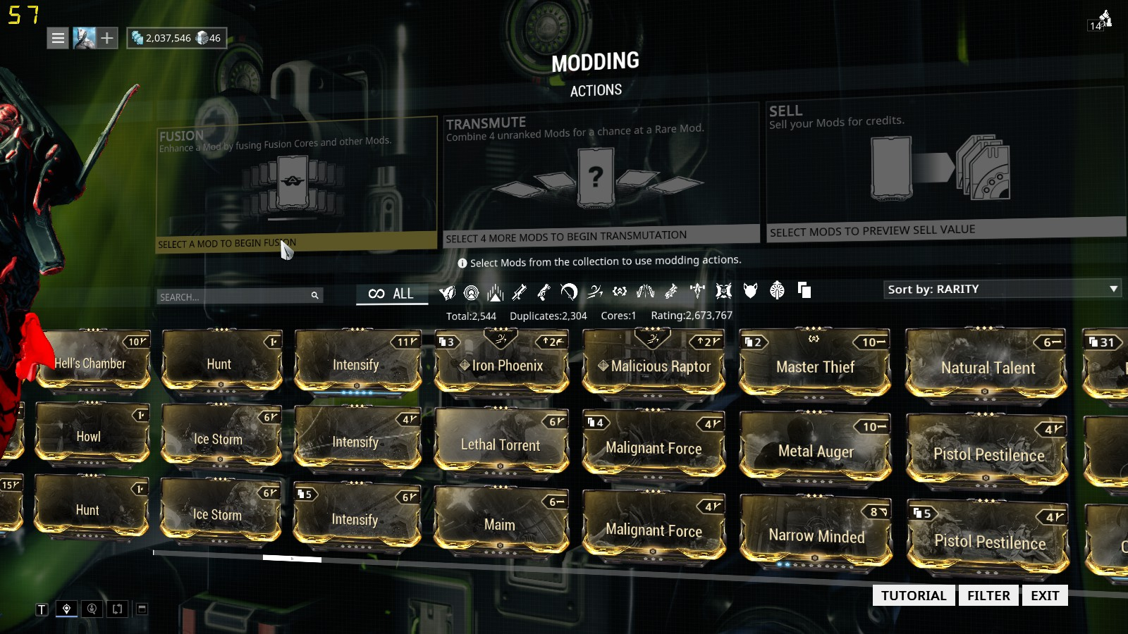 Selling] Selling MR 11 warframe account for cs go skins
