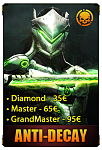 Eliteboost   Overwatch   Rank Boost Leveling 1.79€ 1-25 30€ Golden Weapons  Placement-anti-decay-png