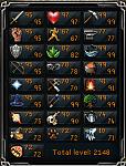 Selling 187 combat 2148 total 07 account-rsstats-png