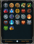 Selling 187 combat 2148 total 07 account-prayers-png