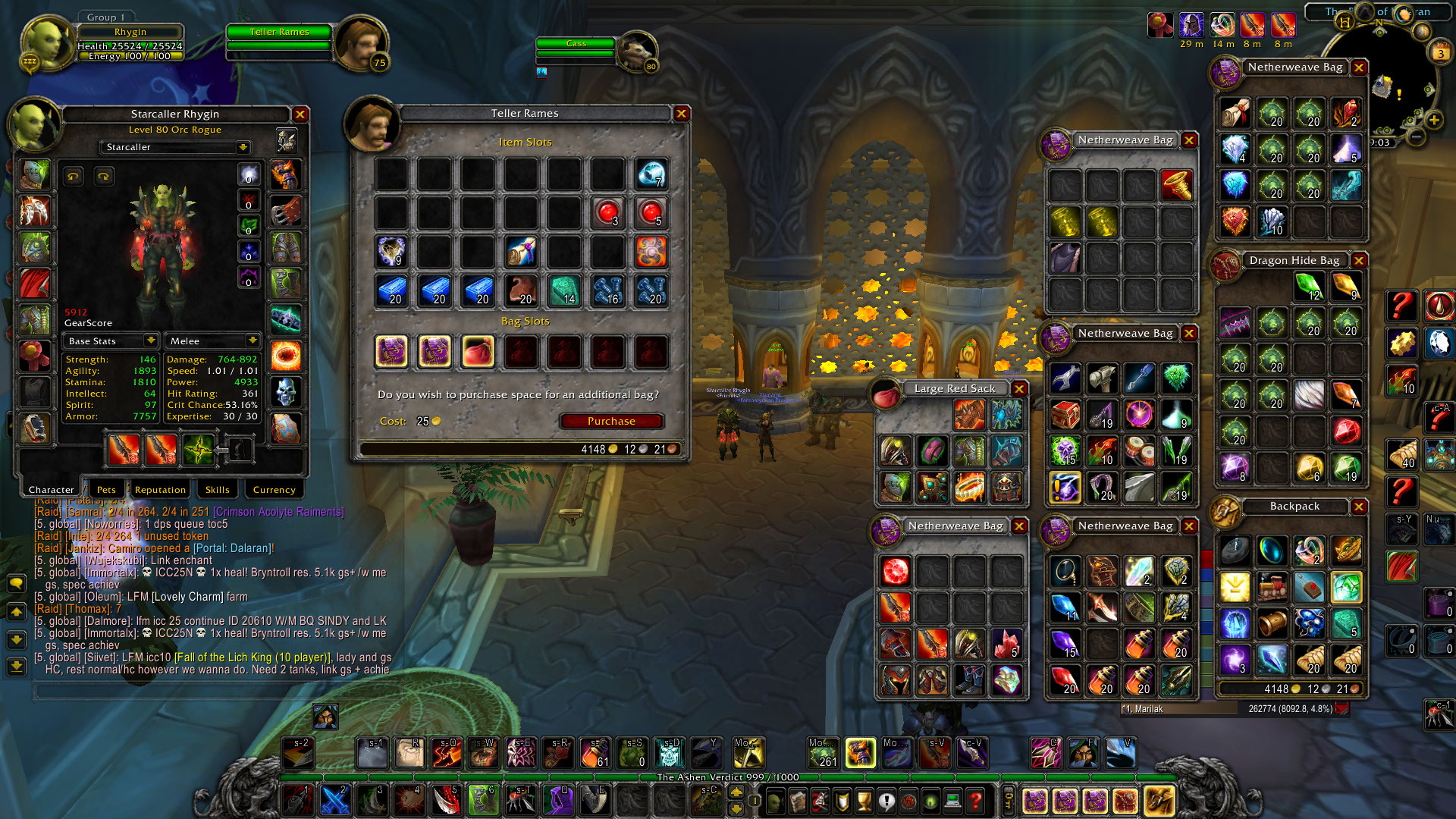 Selling] Level 80 Mage, Rogue(Horde and Ally) and Priest for