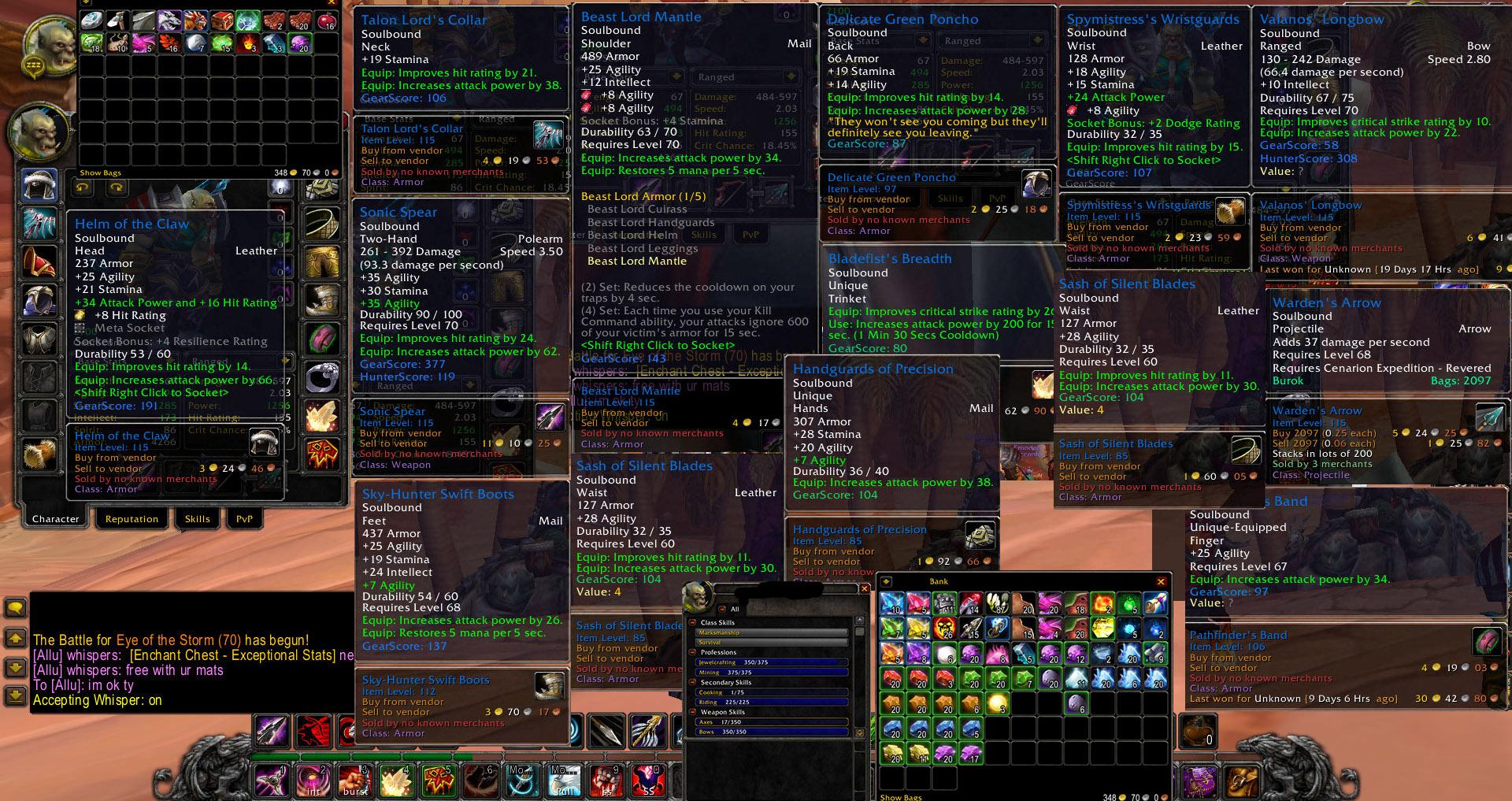 Selling] Account sell - Sunwell - Nightbane - Horde orc 70